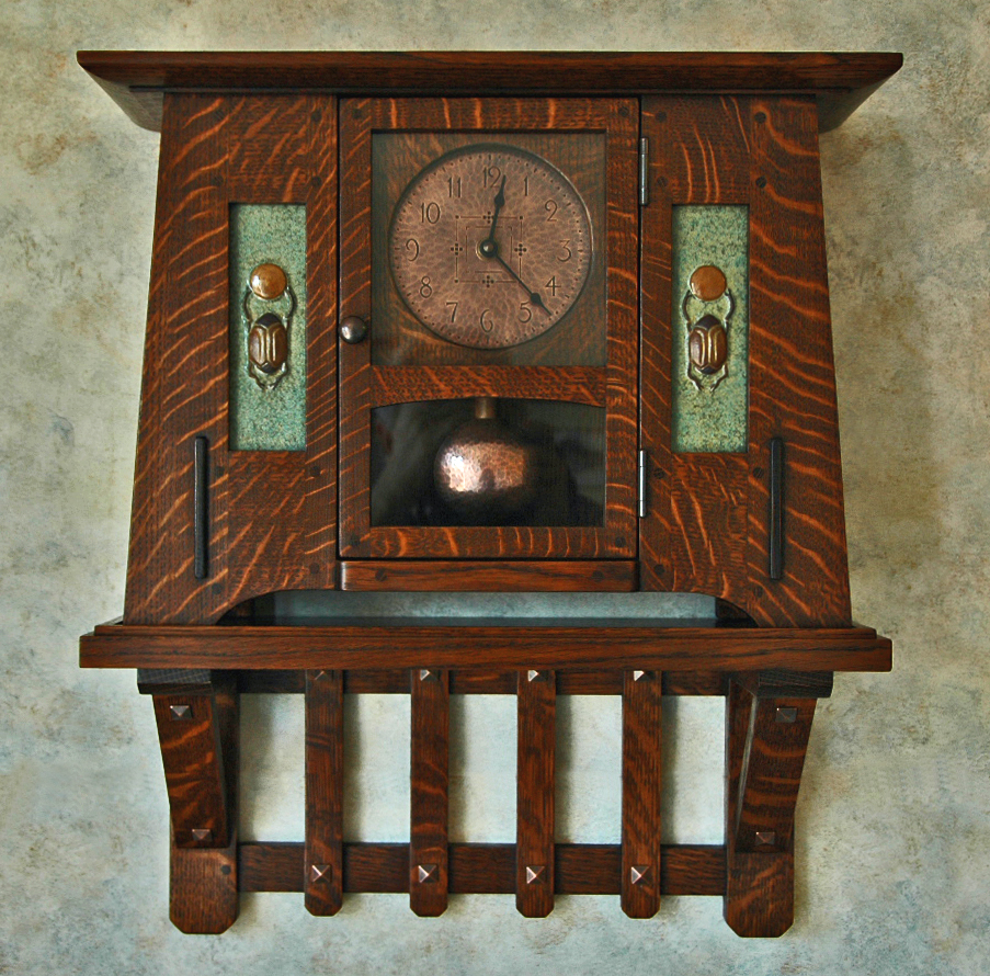 Arts and crafts clocks for Arts and crafts clocks for sale